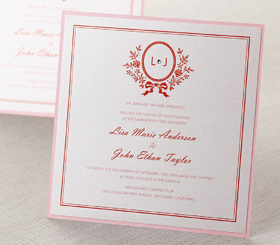 Unique Stationery From B Wedding Invitations