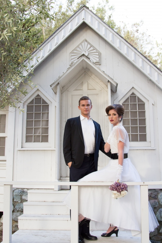 An Elegant Vintage 50's style wedding - The Wedding Chicks