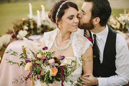 Win a wedding package from Danielle Capito Photography and Davia Lee Events!