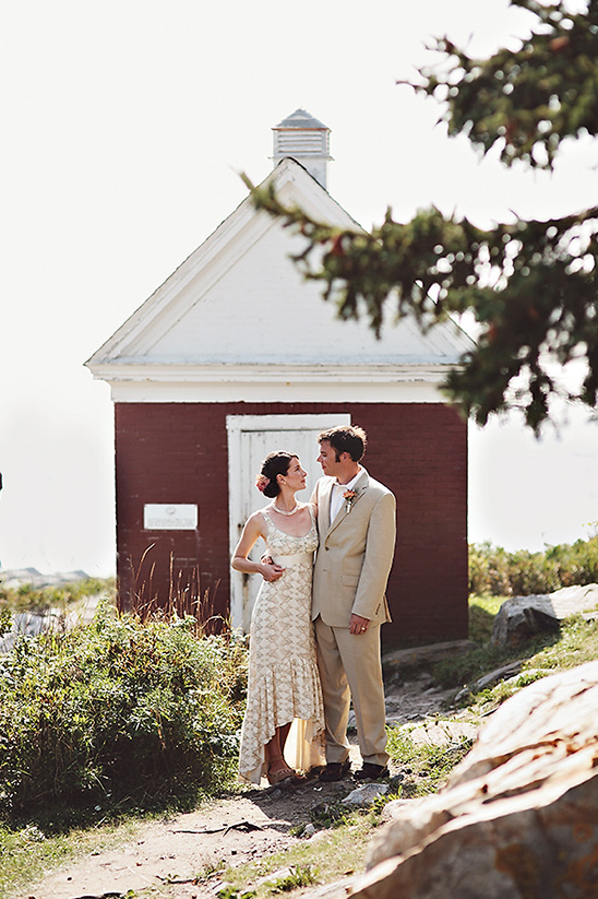 Laid Back Maine Wedding