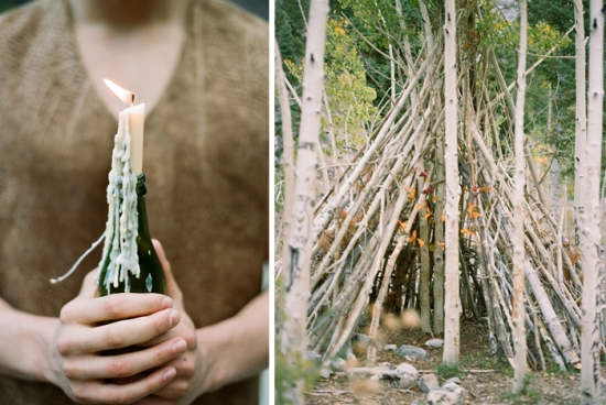 Gaby J Photography Woodland Engagement Shoot