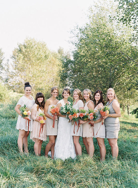 Elegant Vintage September Wedding
