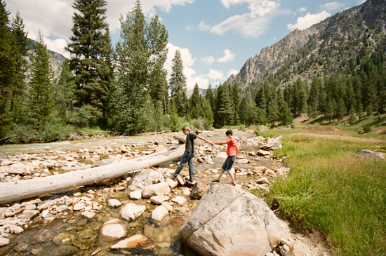 Idaho Mountain Engagement with Michelle Cross