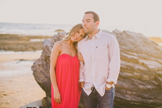 Crystal Cove, Laguna Beach Engagement Session [Dave Richards Photography]