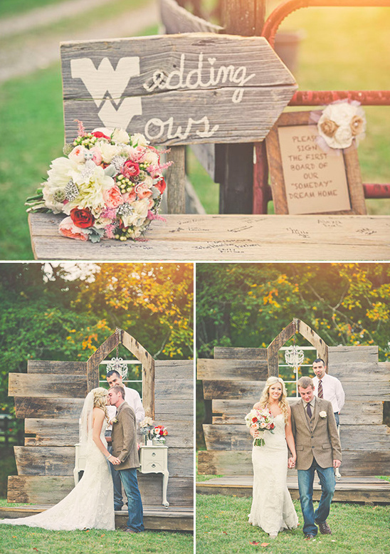 West Virginia Rustic Barn Wedding