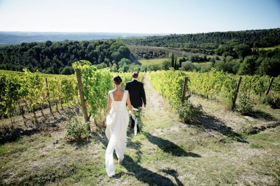 Italy Vineyard Rustic Wedding