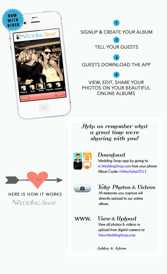 Collect Your Guests' Photos & Videos With Wedding Snap