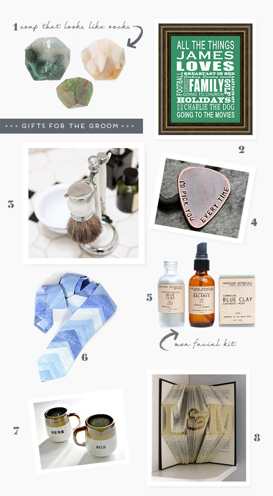 gifts for the groom
