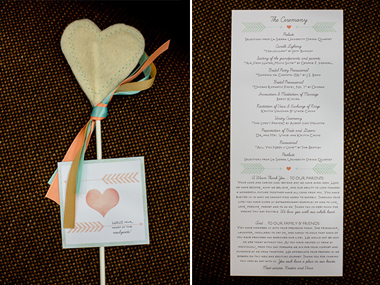 It Starts With A Heart Themed Wedding