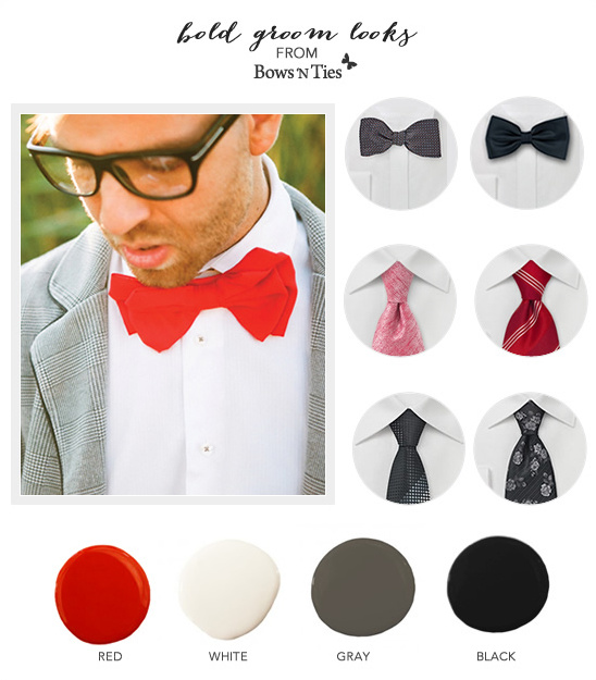 Groom Looks And Ideas From Bows-N-Ties.com