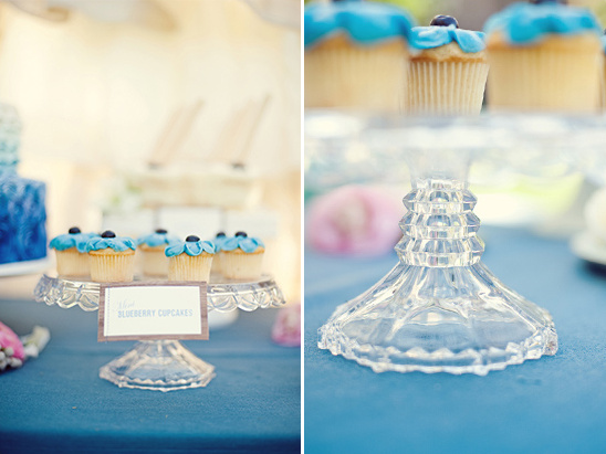 Vintage Blueberry Wedding Ideas