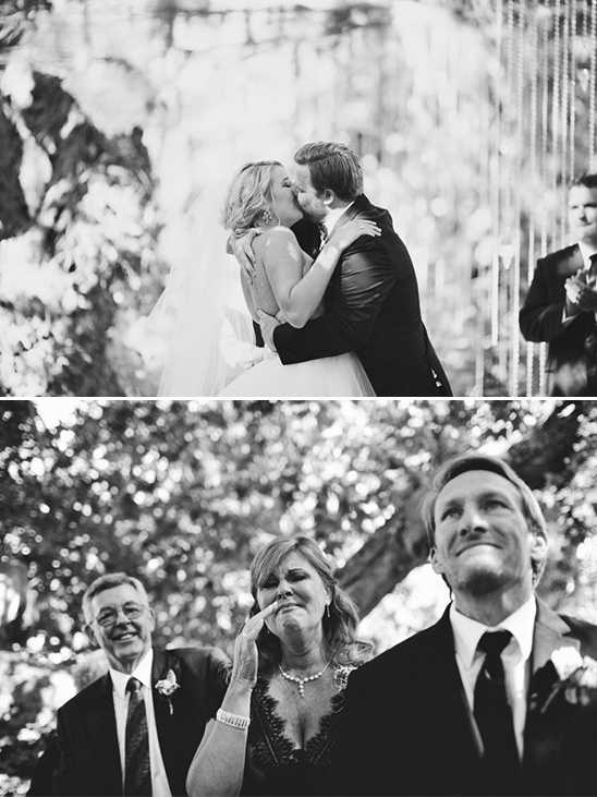 wedding kisses captured by Tyler Branch Photography