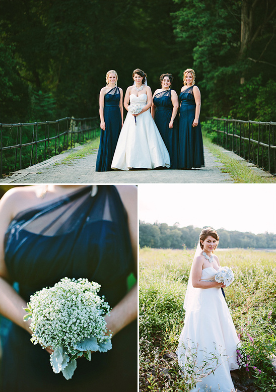 black bridesmaid dresses by Wtoo