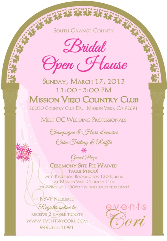 Invitation to Bridal Open House