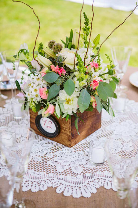 flower box table numbers