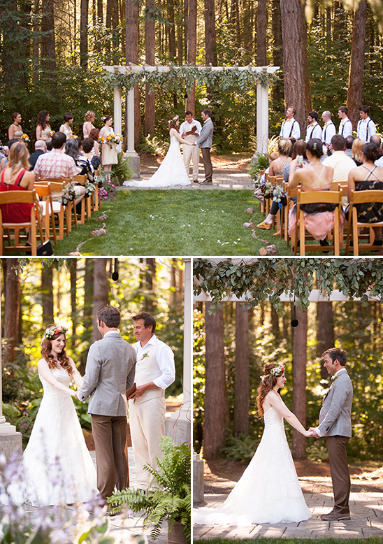 A Wedding Deep In the Woods
