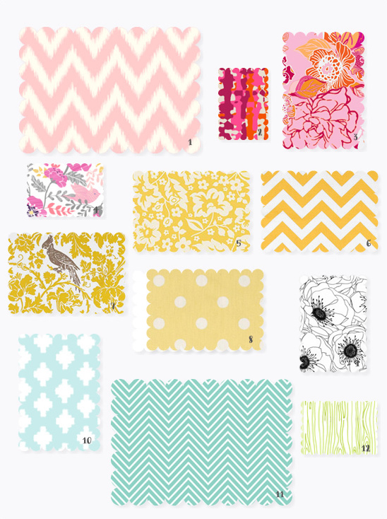 spring fabric ideas