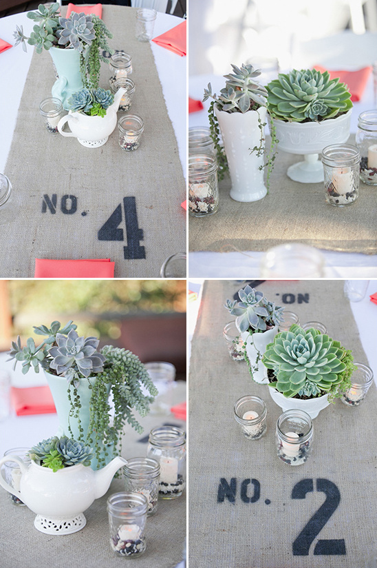 succulent wedding decor