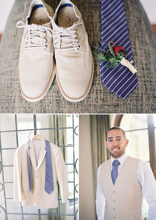 Santa Barbara Vintage Yet Casual Wedding