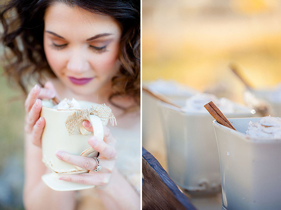 serve specialty coffee drinks at your wedding