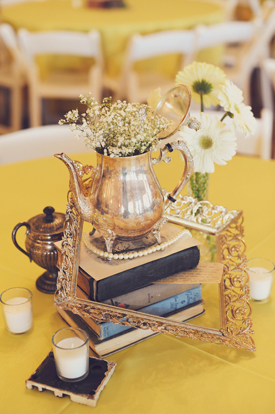yellow vintage wedding ideas