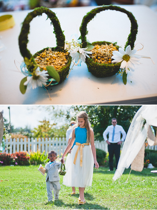 Rustic Teal And Gray Wedding