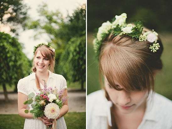 relaxed bridal looks