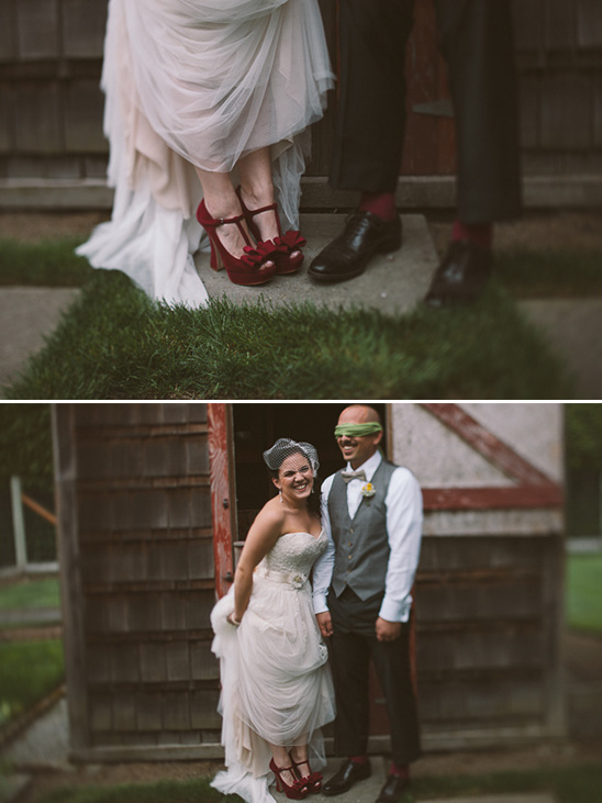 Garden Gnome Inspired Wedding