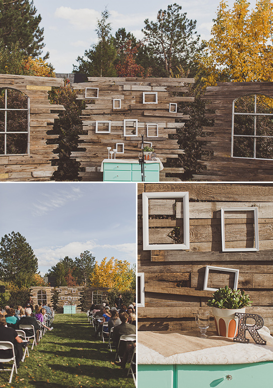 Backyard Fall Wedding Ideas