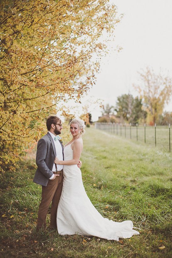 On Trend DIY Backyard Fall Wedding