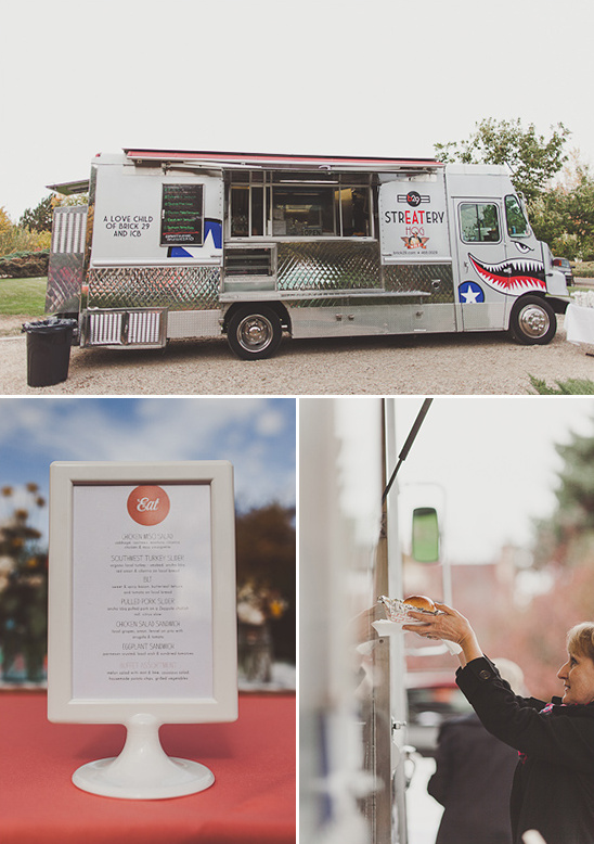 have a food truck cater your wedding