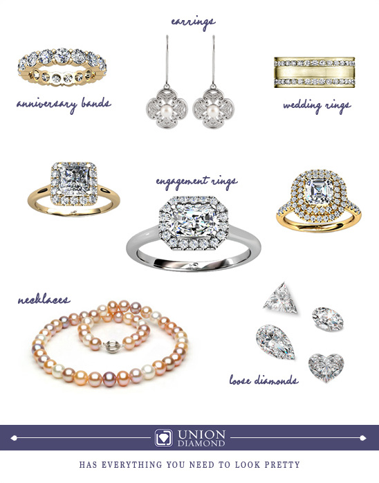 Everything You Need To Look Pretty From Union Diamond