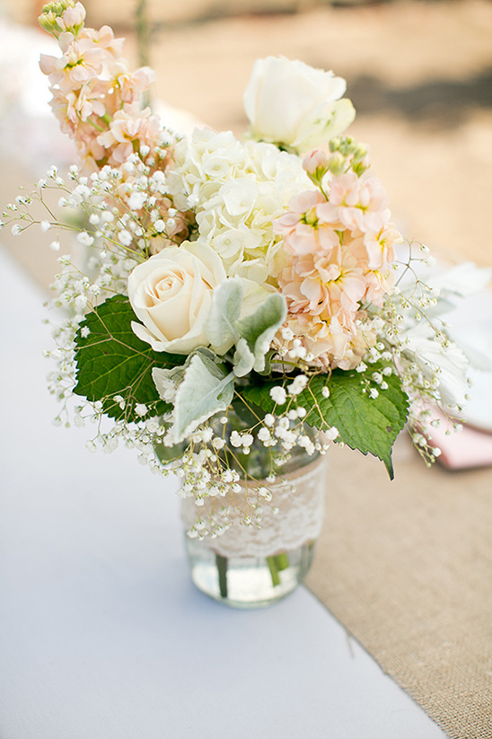 mason jar floral ideas
