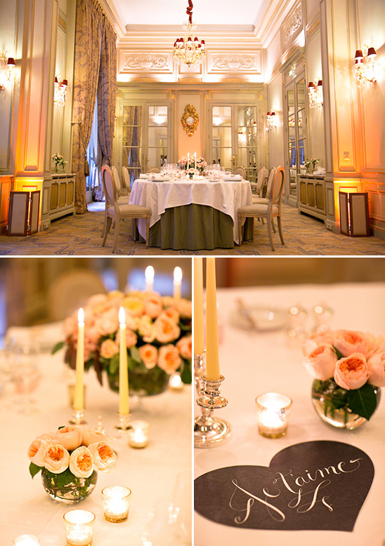 french wedding reception