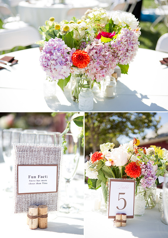mason jar floral arrangements