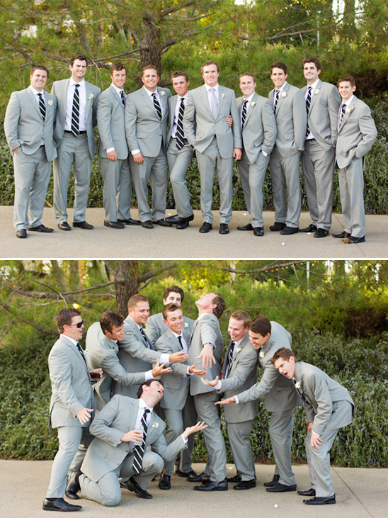 gray groomsman ideas