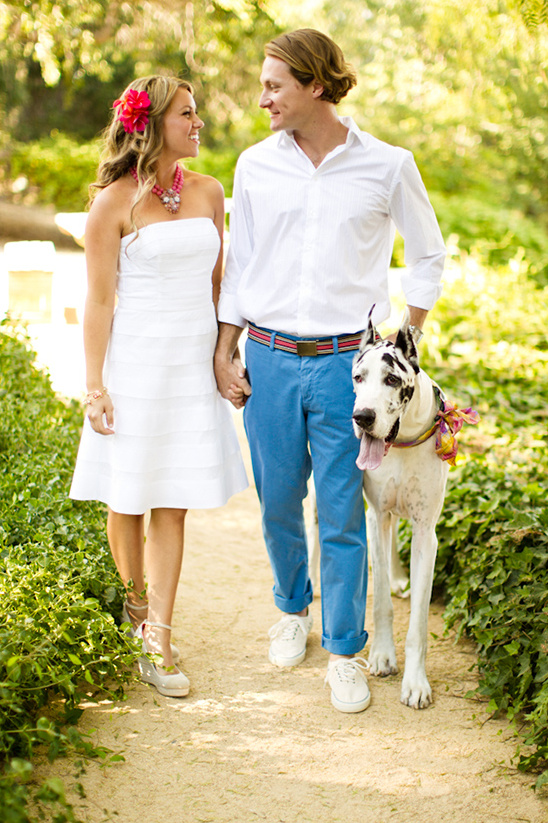 enagement photos with your doggie