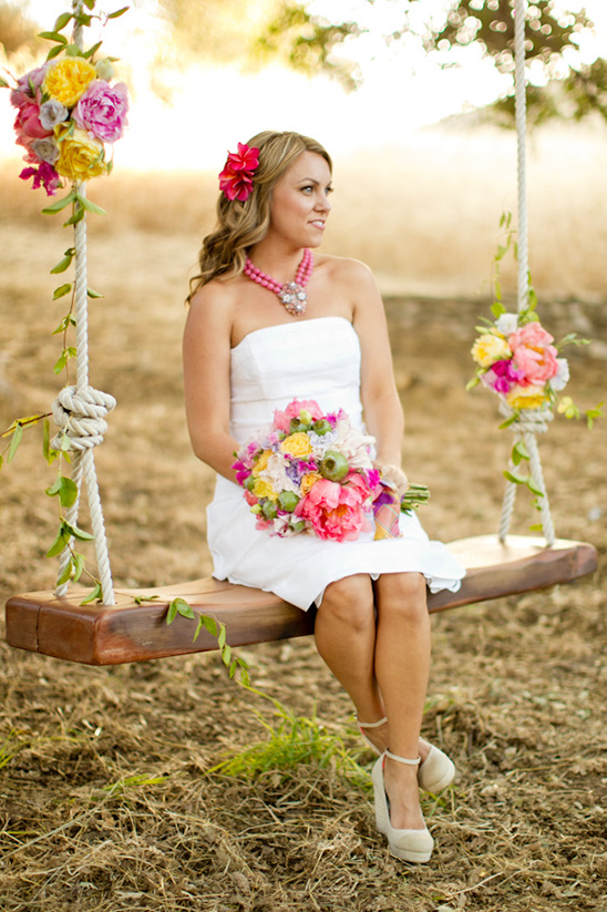 relaxed wedding looks