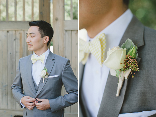 gray and yellow groomsman ideas