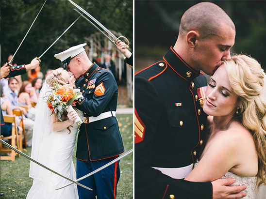 military wedding ideas
