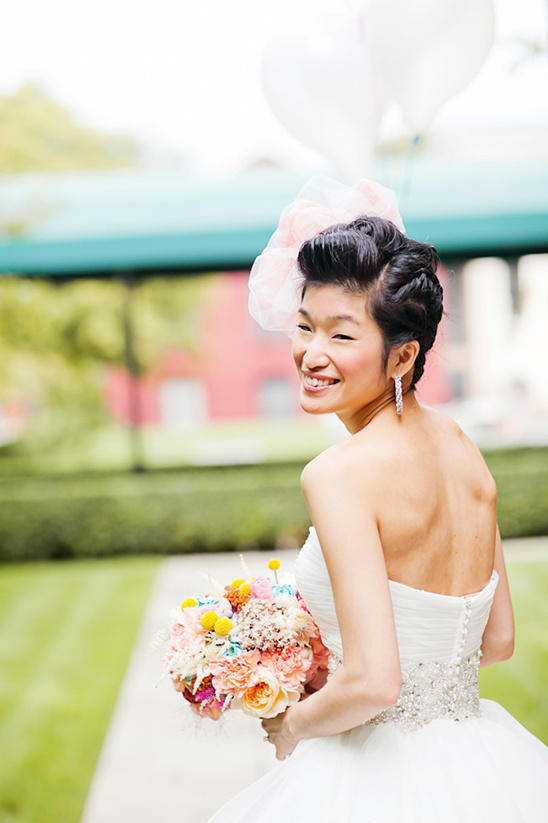 whimsical bridal looks
