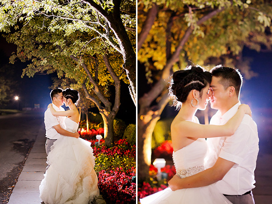 nightime wedding ideas