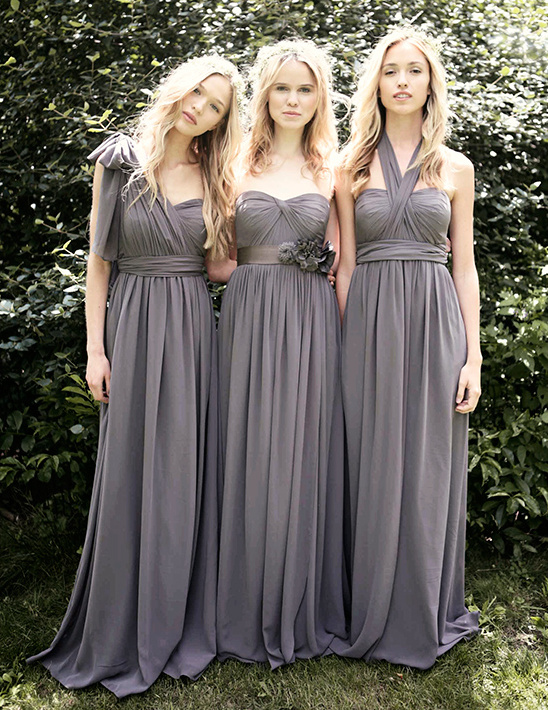 Jenny Yoo convertible Nabi bridesmaid dresses