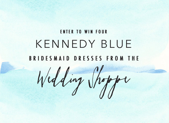 Win Kennedy Blue Dreses Wedding Shoppe