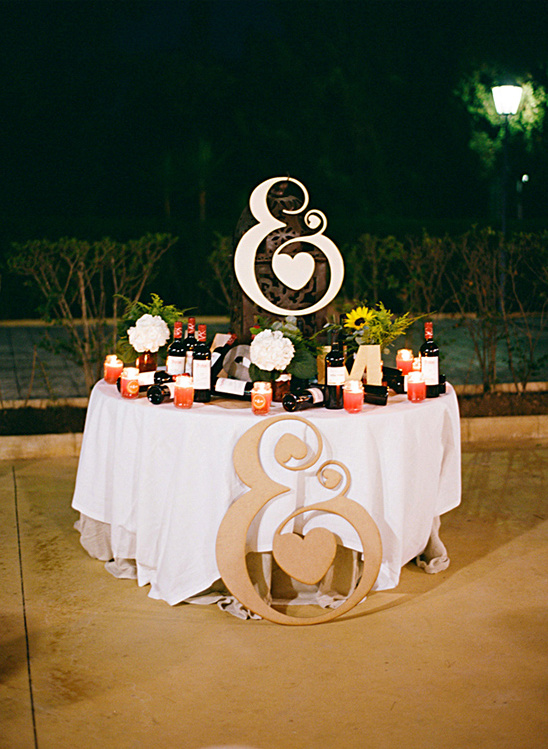 ampersand wedding ideas