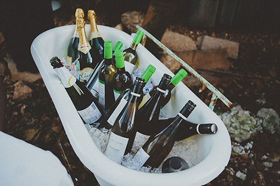 wine cooler tub