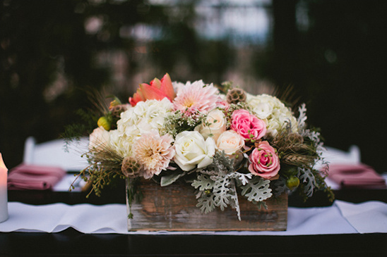 centerpieces by Layers of Lovely