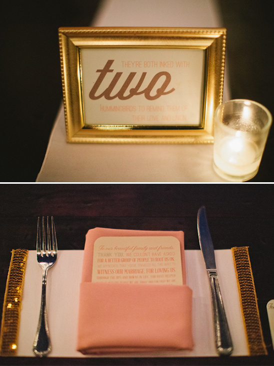 table number sayings