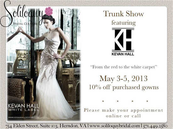 Kevan Hall @ Soliloquy Bridal Couture