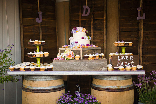 rustic dessert/cake table ideas